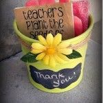 Teacher Appreciation Gift ~ Teachers plant the seeds of knowledge.