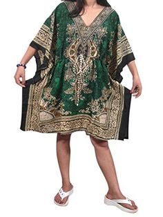 Mogul Bohemian Kaftan Dresses Short Green Caftan Cover up Tunic Beach Dress Mogul Interior http://www.amazon.com/dp/B0136LV76A/ref=cm_sw_r_pi_dp_nGn3vb00CYAXK