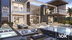 45 luxury modern house exterior design ideas – My Ideas Best Modern House Design, Modern Villa Design, Modern Exterior House Designs, Design Exterior, Dream House Exterior, Modern Architecture House, Dubai Architecture, Architecture Design, Luxury Modern Homes