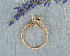 HANDMADE RINGS & BRIDAL SETS by MoissaniteRings on Etsy Bridal Ring Sets, Handmade Rings, Hoop Earrings, Etsy, Jewelry, Jewels, Schmuck, Jewerly, Jewelery