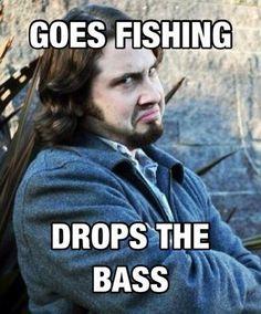 Avi loves droppin the Bass!