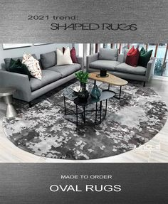 Bespoke rugs made by hand Outdoor Sectional, Sectional Sofa, Oval Rugs, Outdoor Furniture Sets, Outdoor Decor, Contemporary Rugs, Rug Making, Bespoke, Carpet