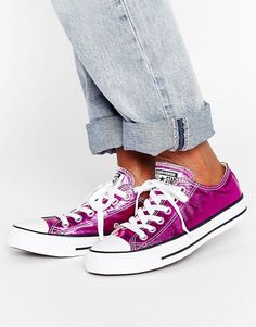 Converse Chuck Taylor All Star Ox Metallic Trainers