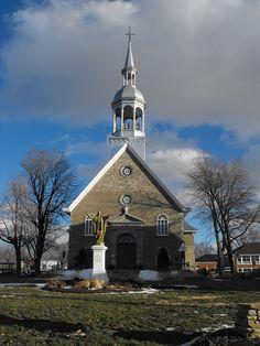 Sainte-Famille Catholic Church in Boucherville, Quebec | Flickr - Photo Sharing!