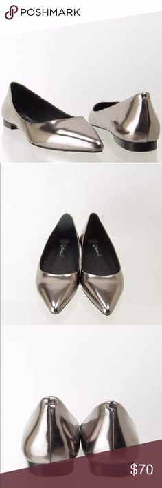 Jeffrey Campbell Ruston Flat in Pewter Size 8 NWB Brand new with box, size 8, pointed toe flat, color name is pewter Jeffrey Campbell Shoes Flats & Loafers