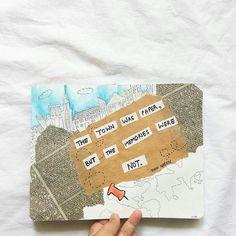233 отметок «Нравится», 17 комментариев — Diya Gupta (@finitebrains) в Instagram: «Paper towns for a paper girl.»
