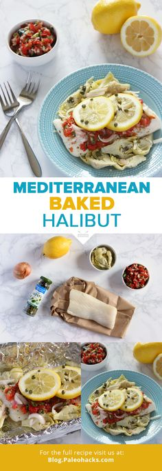 Dine Like the Greeks With This Mediterranean Baked Halibut