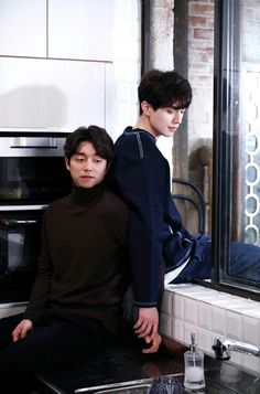 Goblin: The Lonely And Great God \Gong Yoo and Lee Dong Wook (Korean Drama) Lee Dong Wook Goblin, Goblin Gong Yoo, Asian Actors, Korean Actors, Korean Dramas, Goblin The Lonely And Great God, Goblin Korean Drama, Song Joong, Yoo Gong