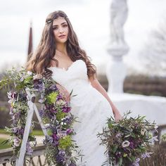 violet spring wedding ideas