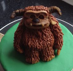 Ludo from the labrynth movie with david Bowie. cake topper 100% edible. #Ludo Friend?