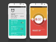 Alarm clock experiment