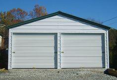 1000 images about garages on pinterest steel garage for 11 x 7 garage door
