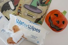 Wipe Away your Halloween Horrors with WaterWipes | Emily and Indiana. WaterWipes review - perfect for delicate bums and messy hands!