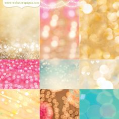 Websters Pages - Strawberry Fields Collection - 12 x 12 Vellum - Beautiful Bokeh at Scrapbook.com