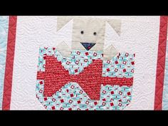 Snapshots Quilt Along Block Four: Puppy Love Pattern – Fat Quarter Shop - YouTube