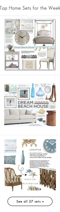 """Top Home Sets for the Week"" by polyvore ❤ liked on Polyvore featuring interior, interiors, interior design, home, home decor, interior decorating, Quoizel, Primitives By Kathy, Trademark Fine Art and LAFCO"