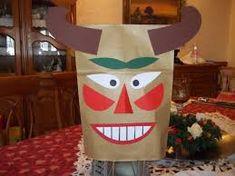 """Képtalálat a következőre: """"busó maszk papírzacskó"""" Techno, Alphabet, Diy And Crafts, Kindergarten, Costumes, Education, Advent, Masks, Garden"""