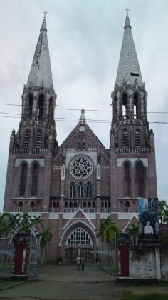 St Mary's Cathedral in Yangon, Myanmar