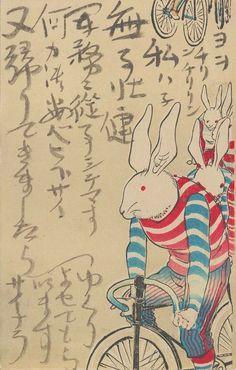 Rabbit Cyclist