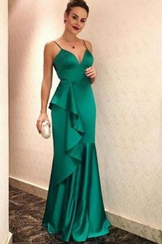 Cheap Prom Dresses, Mermaid Prom Dresses,Long Prom Dresses on Sale- Straps Prom Dresses, Mermaid Prom Dresses, Cheap Prom Dresses, Formal Dresses, Dress Prom, Merian, Maxi Robes, The Dress, Dress Long