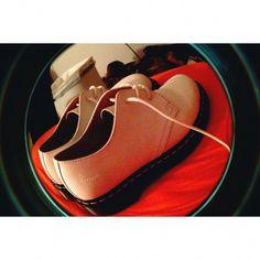Dr. Martens Shoes | Vintage & Authentic White Doc Martens | Color: White | Size: 7 #docmartensoutfits