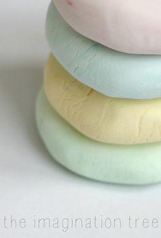 Super soft sensitive skin play dough recipe