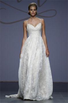 Tendenze sposa 2016 dalla Barcelona Bridal week Justin Alexander