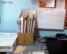 Κουτιά οργάνωσης με κουτιά δημητριακών! http://www.kallisblog.gr/2017/04/diy.html