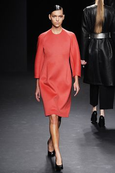 LOVE this color @ calvin Klein Fall 2012 RTW #NYFW #Fashion