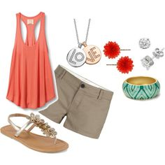 I could totally see this as my Jamaica outfits ...Summerness, created by ricci32.polyvore.com