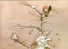 Kunstlerkarte-JENS-GROSELIUS-WEIHNACHTEN-ZWERG-amp-VOGEL-Gel-1983-Schweden