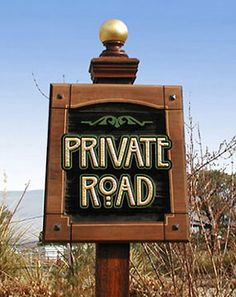 Live on a private road in Westport Connecticut? You may need a Private Road Maintenance to refinance or to purchase a home on a private road.
