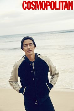 Lee Sang Yoon - Cosmopolitan Magazine January Issue '16