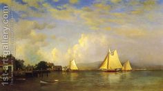 Francis Augustus Silva:On the Hudson