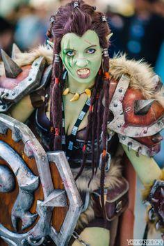 Shockingly cool world of warcraft orc cosplay loktar ogar tutoriel crer des dreadlocks sur une perruque solutioingenieria Choice Image