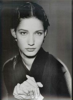 Marpessa Hennink for Dolce e Gabbana. 1988