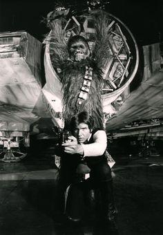 Han & Chewie...