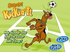Scooby-Doo! Kickin' it Soccer Game.