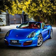 amazing Matte Blue Chrome wrap film from @apa_spa   Promoting Wrappers Around…