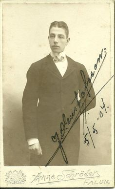 Mystery Photos from an Antique store Images, J. Olsustafsson (or maybe Gustafsson).  Please help me find his descendants!