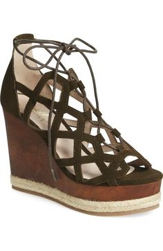Shellys London 'Emerald' Wedge Sandal (Women) available at #Nordstrom