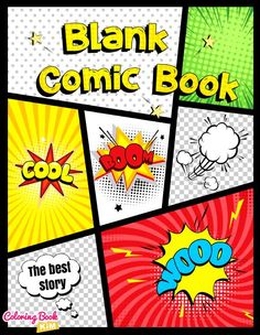 The blank comics to create the best stories for children and adults. 120 pages of wonderful and unique templates designed to meet the highest requirements of both small and large artists, as well as beginners and advanced cartoonists. The panels are arranged in such a way that it is easy to draw both short and long stories. The size of the panels allows you to draw both larger and smaller scenes. The panels do not contain any additional speech bubbles or graphic inserts.