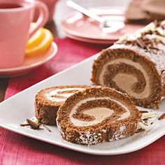 Mocha Ice Cream Cake Roll {this was Christmas Eve dessert...and it was PERFECT!}