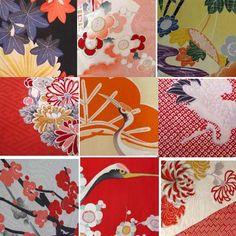Floral Kimono pattern #japan #vintage