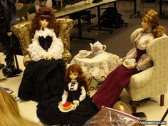 A Proper Tea Party by funnybentoflickr, via Flickr