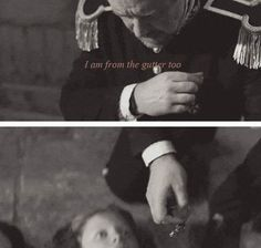 That medal was given to Javert by Emperor Napoleon and he gave it to a 12 year old boy who died for the right to be free