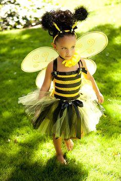 Bumblebee tutu dress
