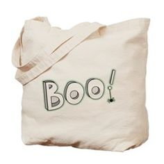 Boo! Tote Bag> Boo> Victory Ink Tshirts and Gifts