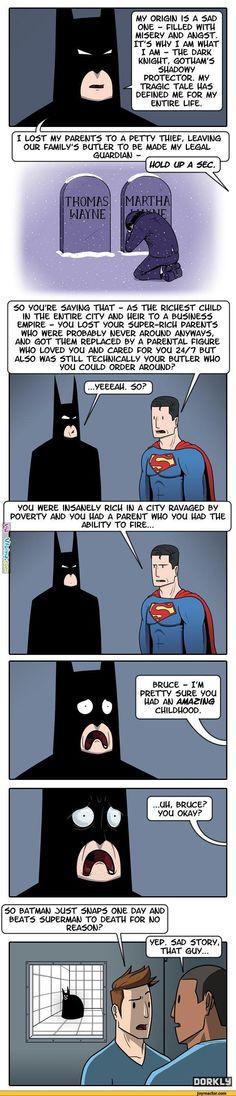 Batman Vs. Spiderman LOL