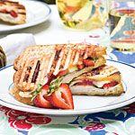 Strawberry-Turkey-Brie Panini Recipe | MyRecipes.com